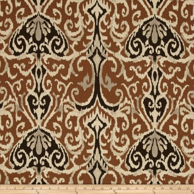 Magnolia Home Fashions Winchester Ikat Chocolate