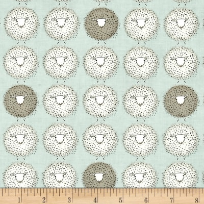 Moda Darling Little Dickens Sheep Puddle
