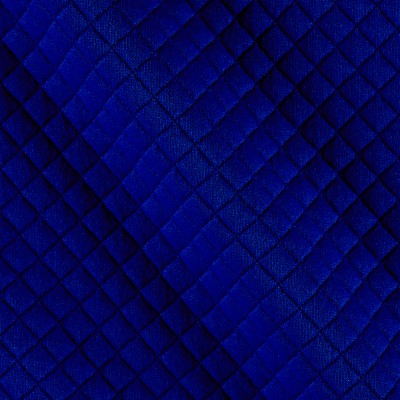 Telio Mini Quilted Knit Diamond Blue