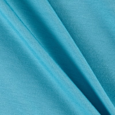 Telio Rayon Jersey Knit Light Aqua