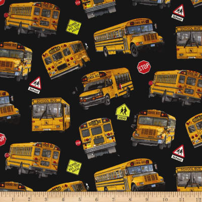 School Buses Black