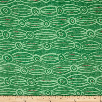 Color Matters Abstract Stripe Green