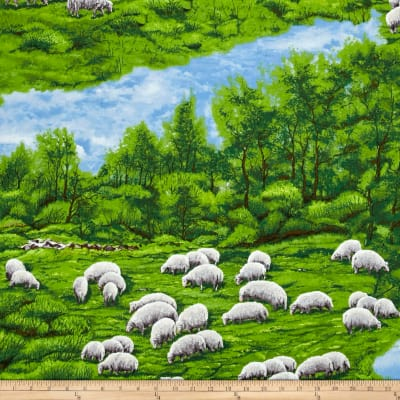In The Meadow Sheep Allover