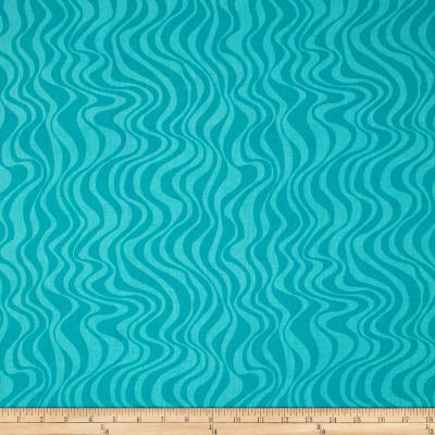 Calypso Goldfish Waves Teal