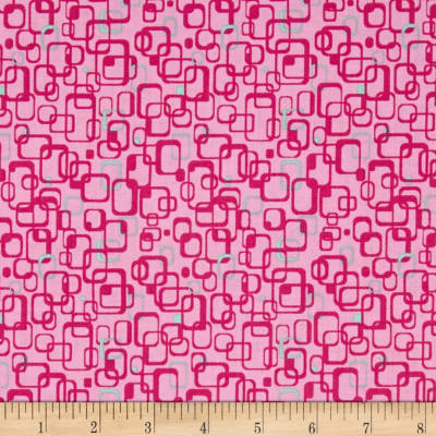 Graphix 3 Link Squares Light Pink