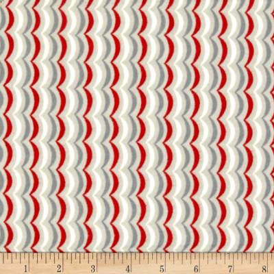 Moda Apple Jack Stripe Grey