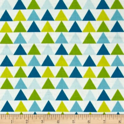 Moda Mixed Bag Flannel Tee Pee Sweet Pea