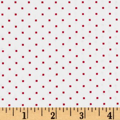 Windham Modern Country Squares  Raspberry
