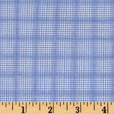 Windham Modern Country Plaid  Periwinkle