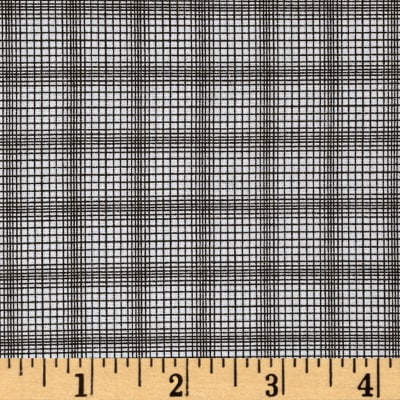 Windham Modern Country Plaid  Charcoal