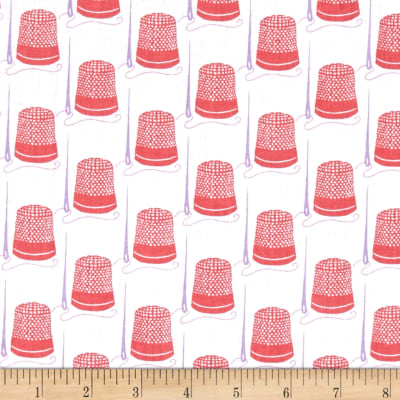 Windham Snippits Thimbles  Coral