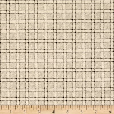 Windham Threads of Time Plaid  Cream