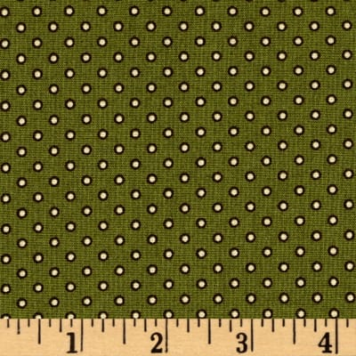 Windham Threads of Time Outline Dot Green