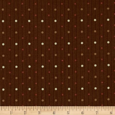 Windham Threads of Time Multi Dot  Brown