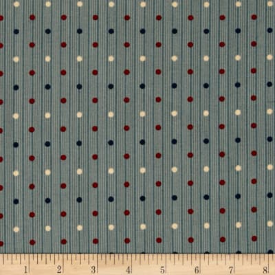 Windham Threads of Time Multi Dot  Blue
