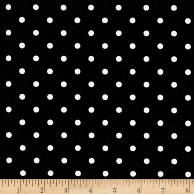 Premier Prints Indoor/Outdoor Mini Dot Black