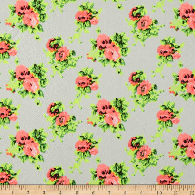 Liverpool Double Knit Paisley Garden Pink
