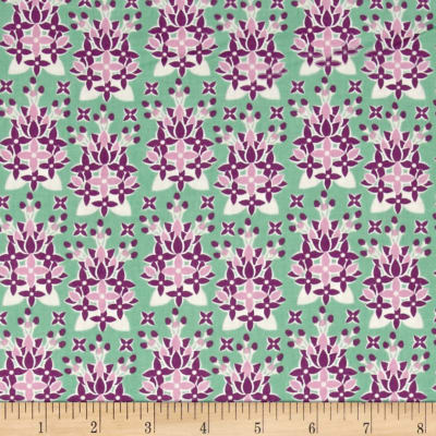 New Hampshire State Flower Purple Lilac Green/Purple/White