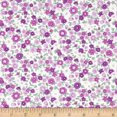 Kaufman Sevenberry Petite Garden Med flower Spray Purple