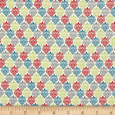 Songbird Small Damask Ecru Multi