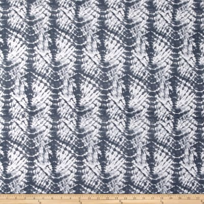 Shibori Stretch ITY Jersey Knit Gray