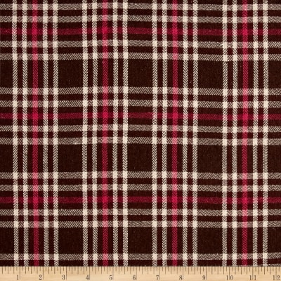Yarn Dyed Plaid Flannel Pink