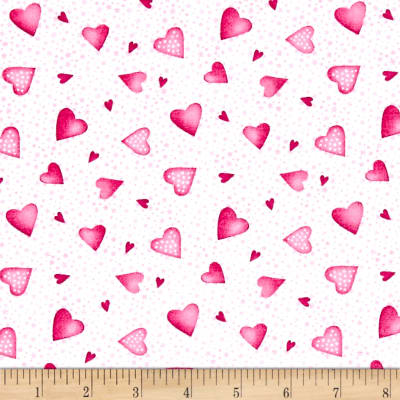 A Bundle of Pink Hearts Pink