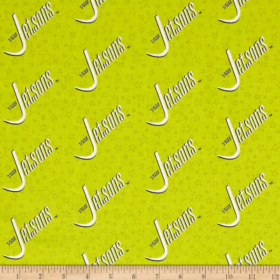 The Jetsons Logo Bright Green