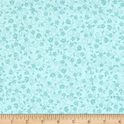 Bloomsberry Tone on Tone Small Floral Blue