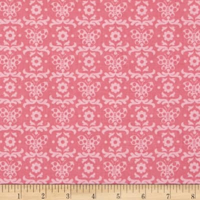 Chi Chi  Butterfly Damask Pink