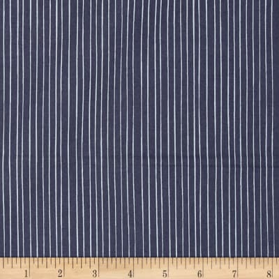 Meadow Stripe Dark Blue
