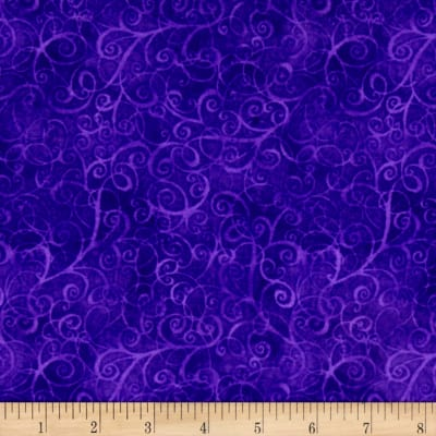 Timeless Treasures Flannel Breeze Purple