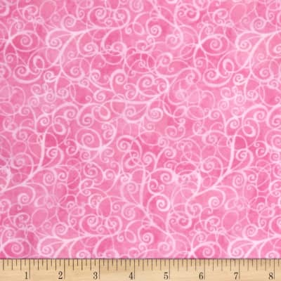 Timeless Treasures Flannel Breeze Pink