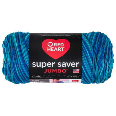 Red Heart Super Saver Jumbo Macaw