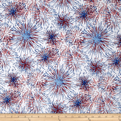 American Homecoming Fireworks White