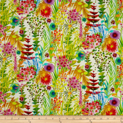 Liberty Fabrics Tresco Lawn White/Multi
