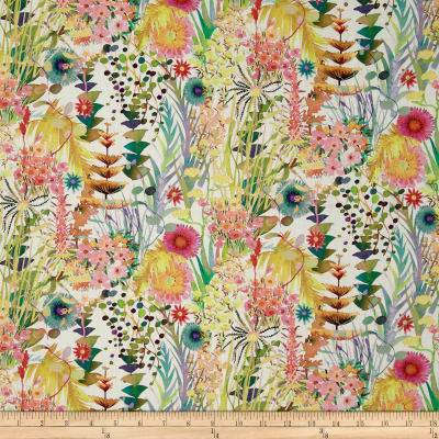 Liberty Fabrics Tresco Lawn Cream/Multi