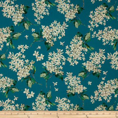 Liberty Fabrics Archive Lilac Lawn Turquoise