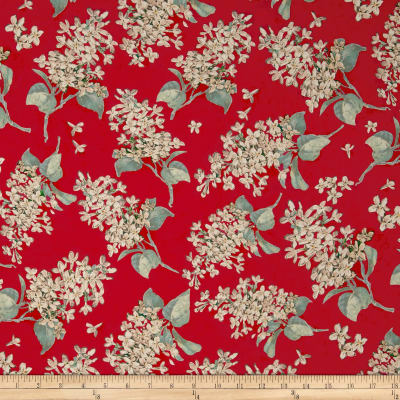 Liberty Fabrics Archive Lilac Lawn Coral