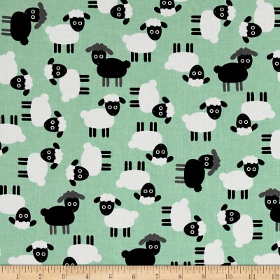 Kaufman Urban Zoology Sheep Mint