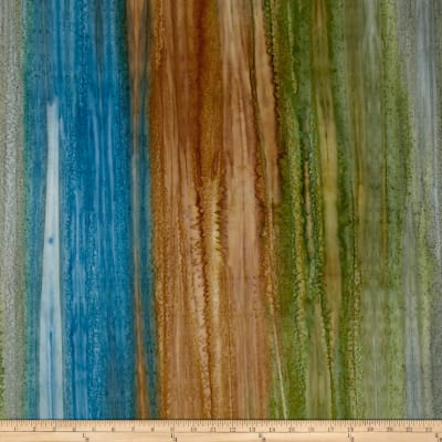 Kaufman Artisan Batiks Patina Handpaints Stripes Russet