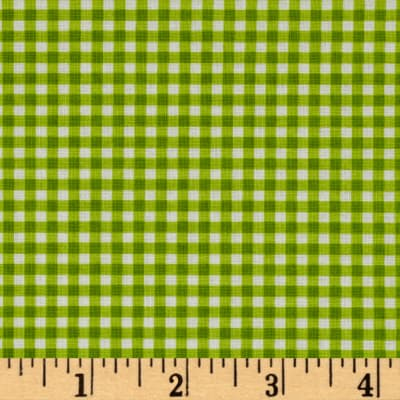 Farm Friends Plaid Green