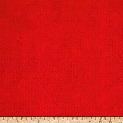 "Essential Criss Cross 60"" Flannel Red"