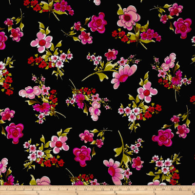 Loralie Designs On The Mend Jumbo Floral Black