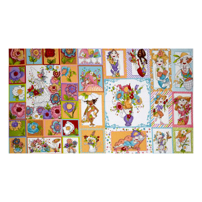 "Loralie Designs Blossom 23.5"" Panel Multi"