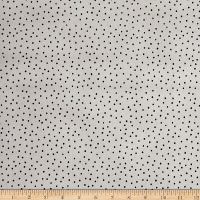Loralie Designs Dear Doggie Delight Dinky Dots Silver Black