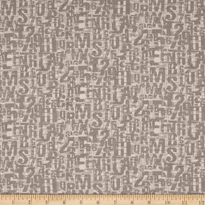 Moda Compositions Number Jumble Taupe