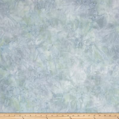 Kaufman Artisan Batiks Patina Handpaints Mottled Spa