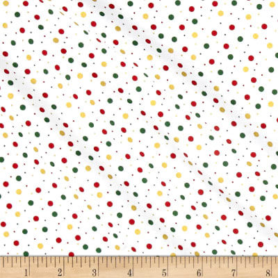 Season's Greetings Mini Dots Multi