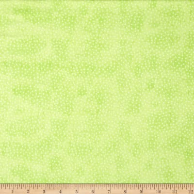 Comfy  Flannel Micro Dot Green